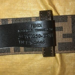 Fendi Belt Never Worn